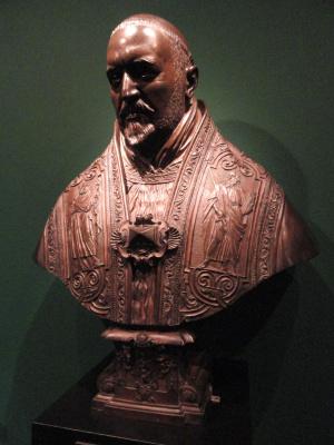 Gian Lorenzo Bernini. Bust of Pope Paul V