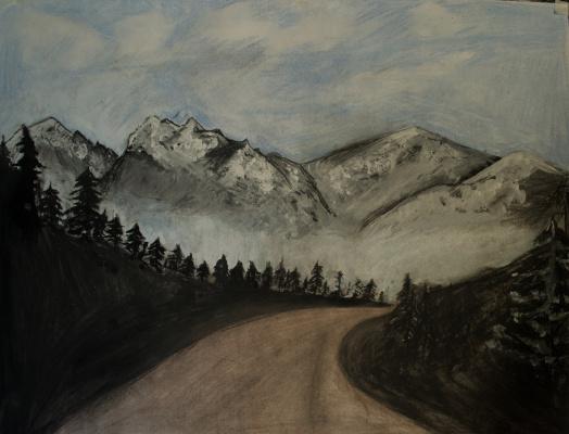 Lena Deli. Mountains - dark valley