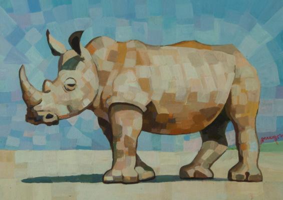 Sergey Volkov. Cubic rhino