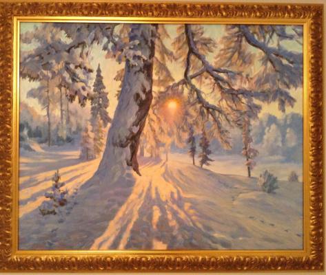 Boris Petrovich Gorodilin. Winter landscape
