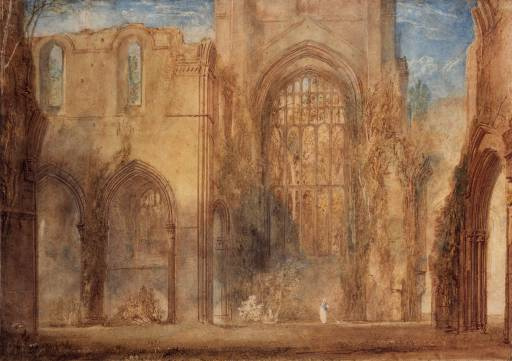 Joseph Mallord William Turner. Fountains Abbey