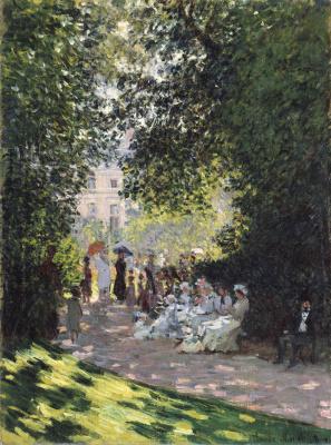 Claude Monet. Parc Monceau