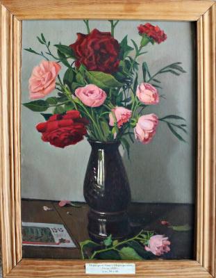 Pavel Merkuryevich Merkuryev. Flowers