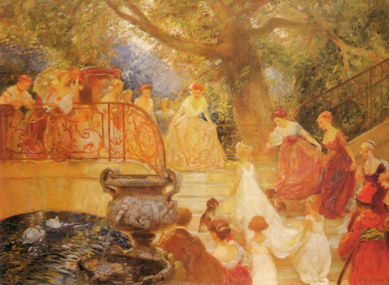 Gaston de Latush. Visit the daughters of the king