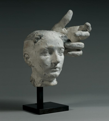 Auguste Rodin. Assemblage: Mask of Camille Claudel and left hand of Pierre de Wissant