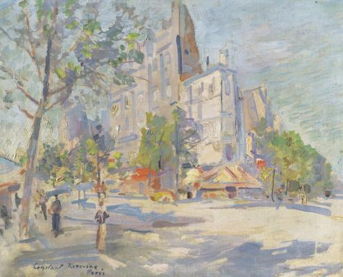 Konstantin Korovin. Spring in Paris
