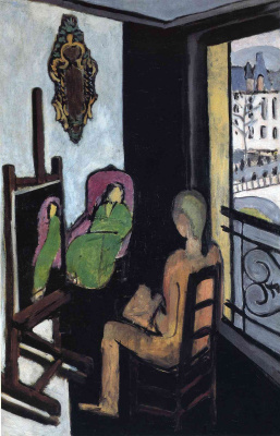 Henri Matisse. The artist and the model