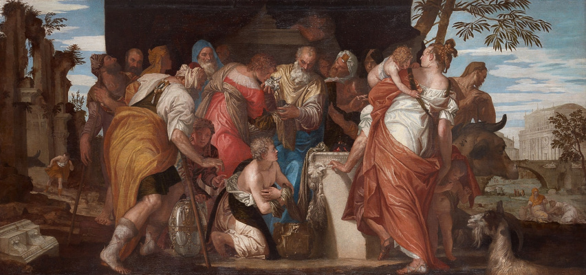 Paolo Veronese. David's anointing