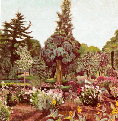 Рафаэль Ботэ. Сад
