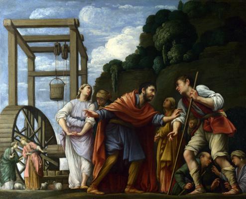 Моисей защищает дочерь Иофора
