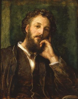 George Frederick Watts. Portrait of Frederick Leighton