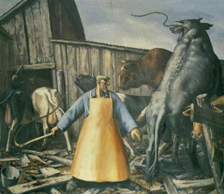 Vasily Vladimirovich Shulzhenko. The case in the slaughterhouse
