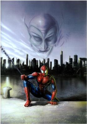 Лоренцо Сперлонга. Человек-паук