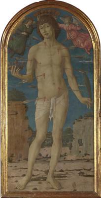 Маттео ди Джованни. Святой Себастьян