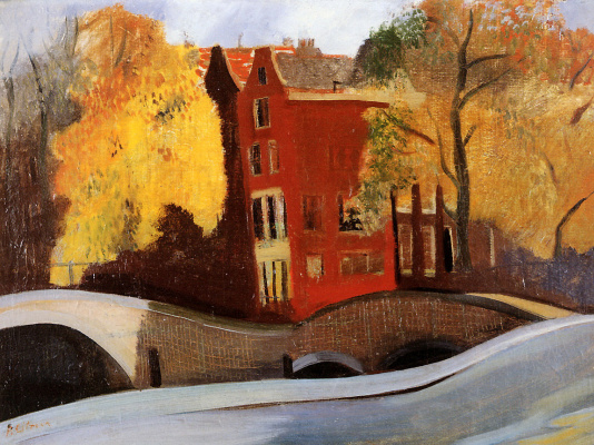 Пол Ситроен. Осень в Амстердаме