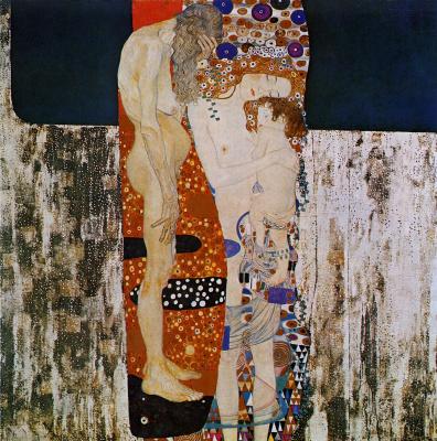 Gustav Klimt. The three ages of women