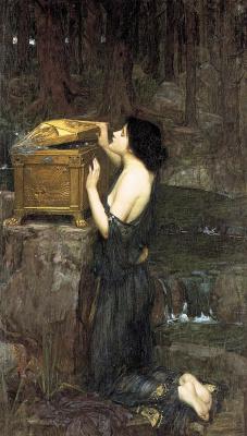 John William Waterhouse. The Pandora's Box