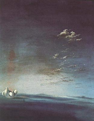 Salvador Dali. Ampurdan. Yang and Yin
