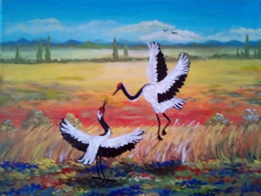 Natalia Anatolyevna Leisure. Storks