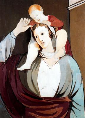 Пер Пруна. Мать и ребенок