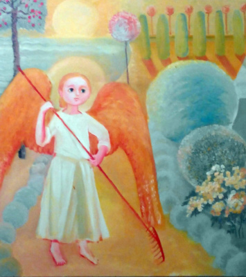 Ольга Геннадиевна Кравцова-Моцпан. Ангел в  моем саду.