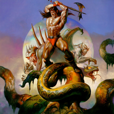 Boris Vallejo (Valeggio). The enemy