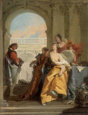 Giovanni Battista Tiepolo. Death of Sofonisba