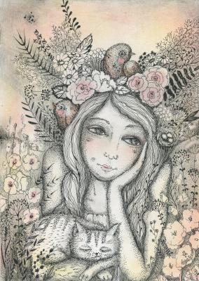 Olyona Ivanovna Koneva. Tsarevna - Summer
