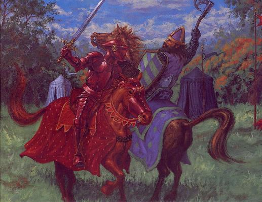 Дуг Андерсен. Красный Рыцарь