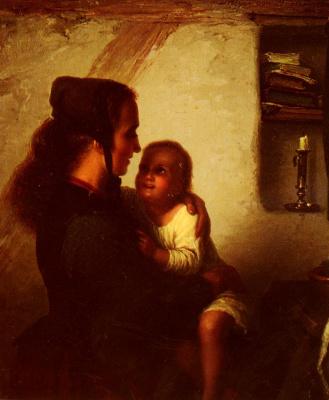 Иоганн Георг Мейер фон Бремен. Материнская забота