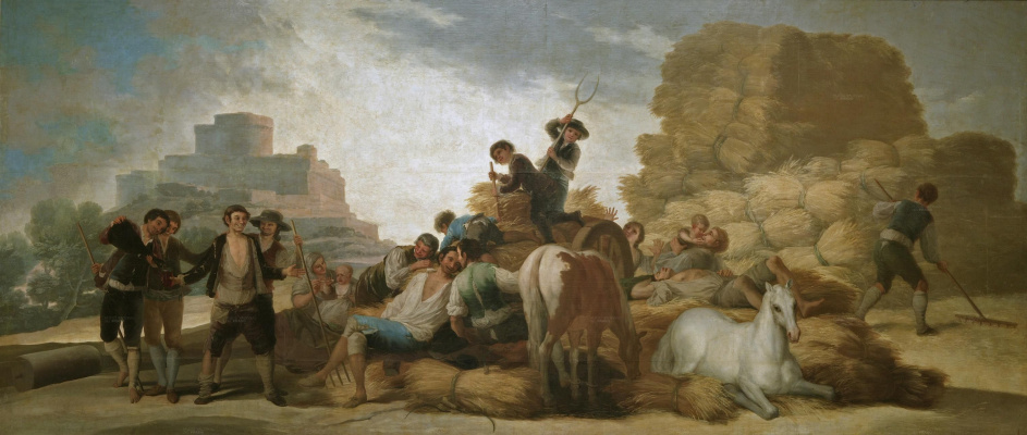 Франсиско Гойя. Лето, или сбор урожая