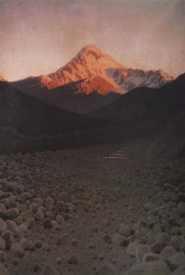 Vasily Vereshchagin. Mount Kazbek