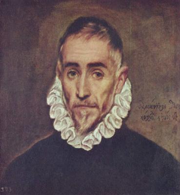 Эль Греко (Доменико Теотокопули). Портрет старейшины