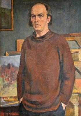 Георгий Иванович Бельцов. Автопортрет