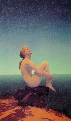 Maxfield Parrish. Stars
