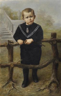 Piet Mondrian. Portrait of a boy johnny