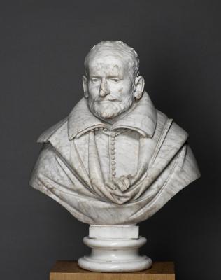 Gian Lorenzo Bernini. Portrait of a man