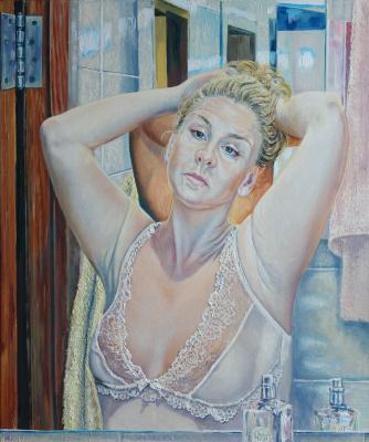 Irina Viktorovna Korotoyakskaya (Dronova). Reflection of the day