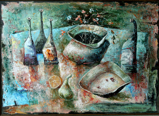 Автандил Невроевич Накашидзе (Кутубидзе). Still life-4