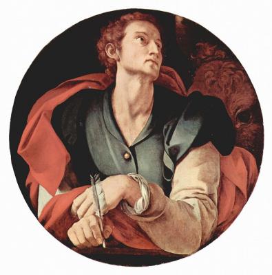Якопо Понтормо. Евангелист Лука