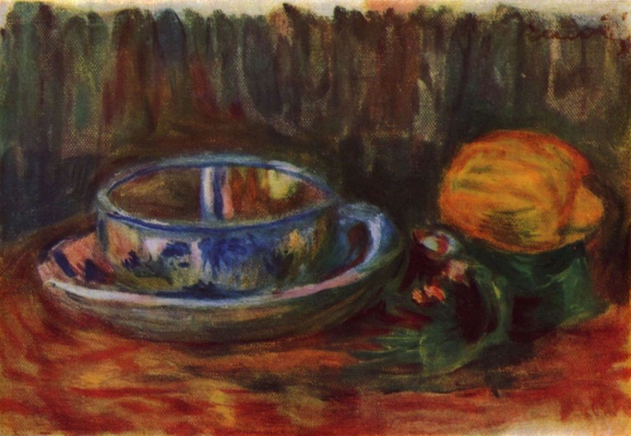 Pierre-Auguste Renoir. Still life with Cup