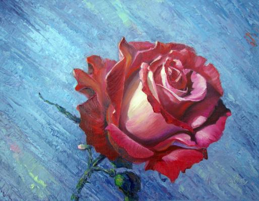 Андрей Середа. Роза красная цвела