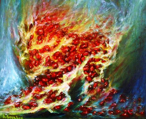 Andrei Ivanovich Boravik. Pomegranate (fragment)