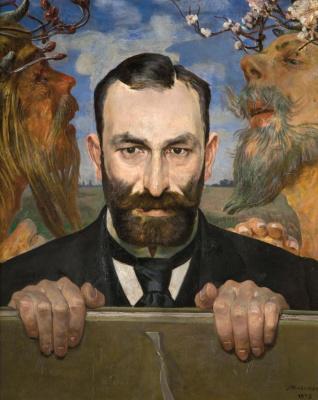 Jacek Malchevsky. Portrait of Felix Yasinsky