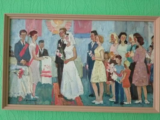 "Stanislav Fedorovich Fomenok. ""Wedding"""