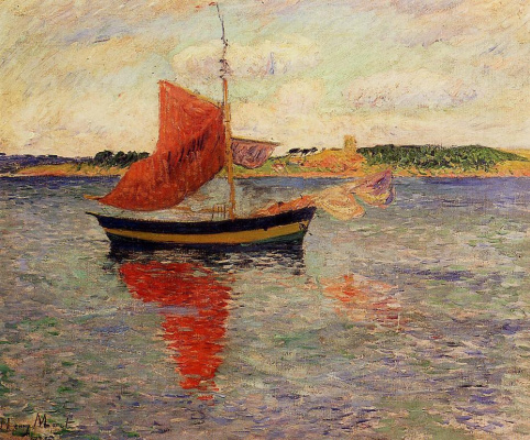 Генри Морэ. Морской пейзаж