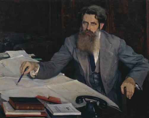 Михаил Васильевич Нестеров. Портрет Отто Юльевича Шмидта