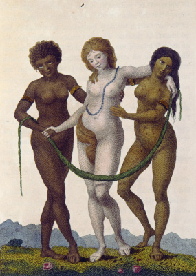 "William Blake. Europe supported by Africa and America. ""The story of a five year expedition against the rebellious Negroes of Suriname"""