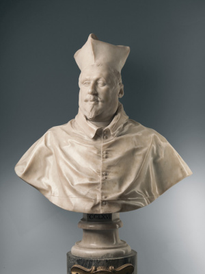 Джованни Лоренцо Бернини. Бюст кардинала Шипионе Боргезе