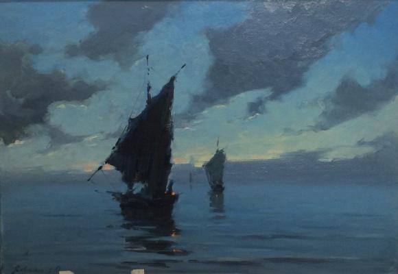 Евгений Николаевич Скитальцев. После шторма